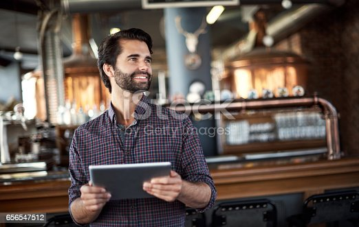 istock Using smart technology to keep business booming 656547512