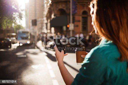 istock Using smartphone 637521014