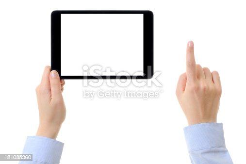 928855610istockphoto Using tablet computer 181085360