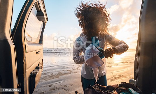istock Using tech to monitor performance. 1156435063