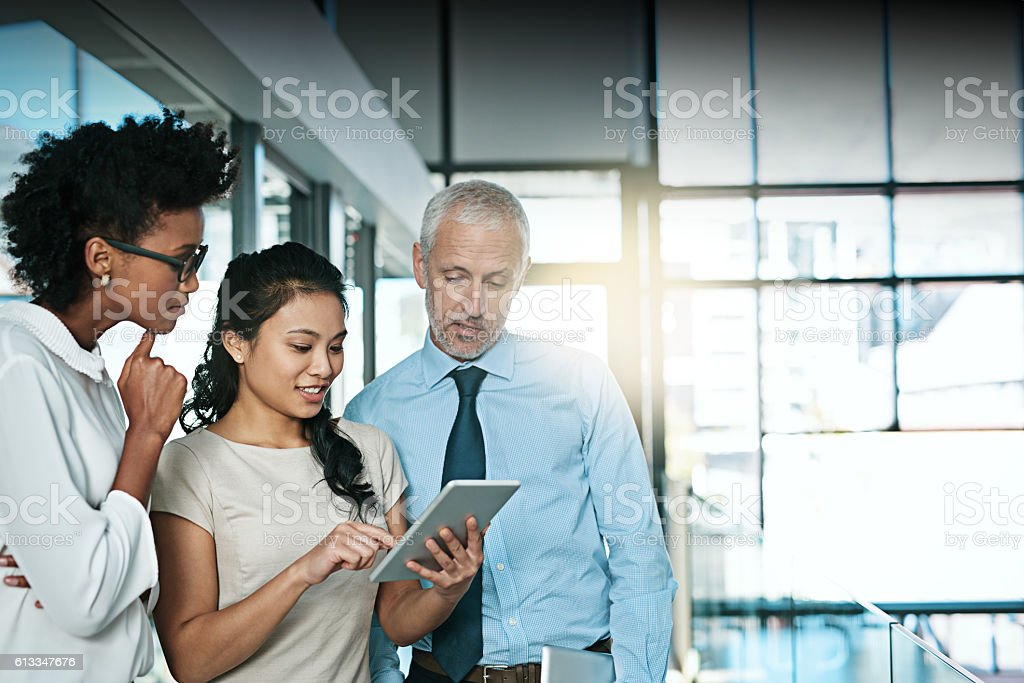 Using technology to take brainstorming to the next level stock photo