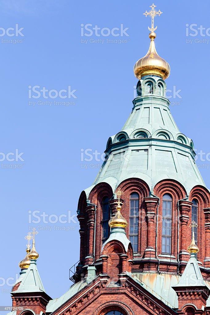 Uspenski Cathedral royalty-free stock photo