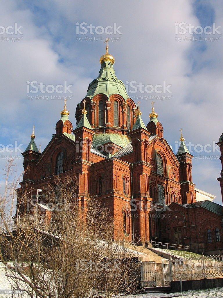 Uspenski Orthodox Church, Helsinki. royalty-free stock photo