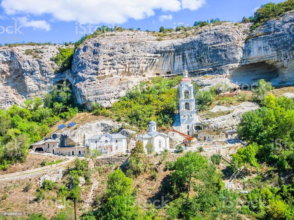 Uspensky monastery, Bakhchisarai, Crimea стоковое фото