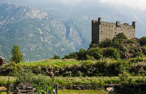 Ussel castle, Valle d'Aosta foto