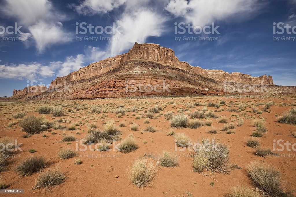 Utah Canyon Country royalty-free stock photo