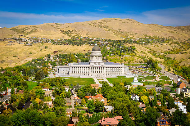 Utah Capital Residential stock photo
