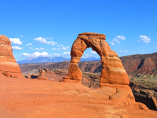 Utah, Delicate Arch in Arches Usa National Park, United States Utah, Delicate Arch in Arches Usa National Park, United States of America delicate arch stock pictures, royalty-free photos & images