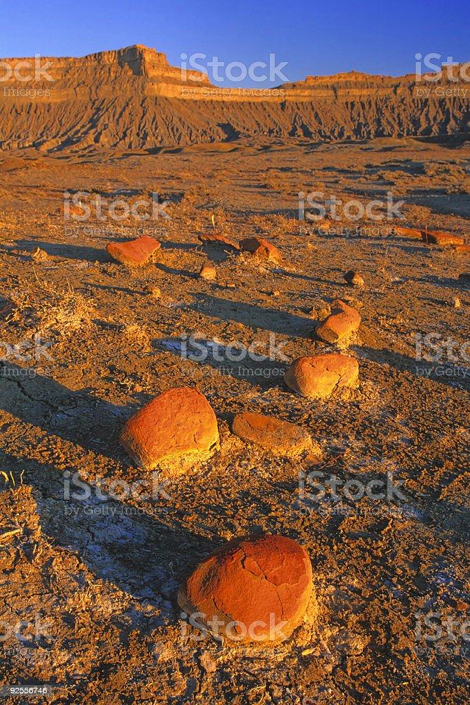 utah desert sunset landscape royalty-free stock photo
