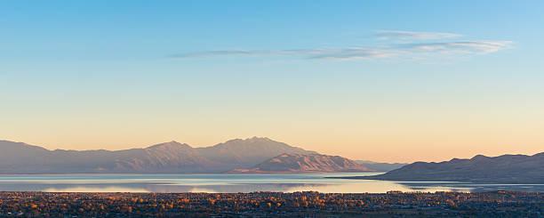 Utah Lake stock photo