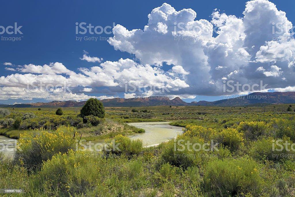 Utah Landscape royalty-free stock photo
