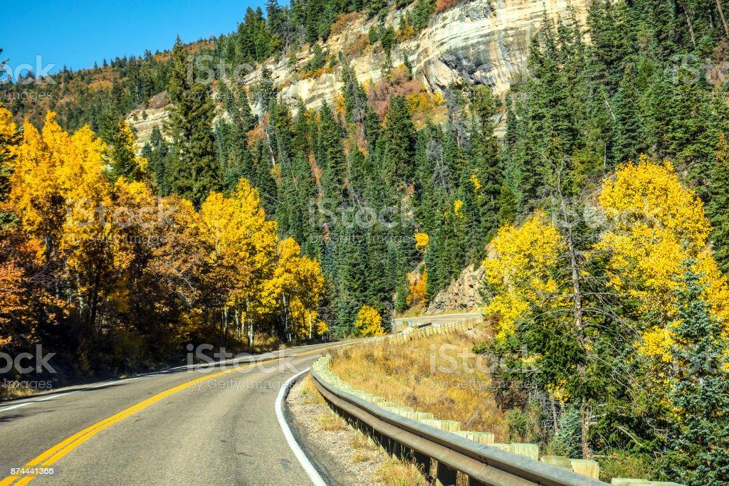 Utah October stock photo