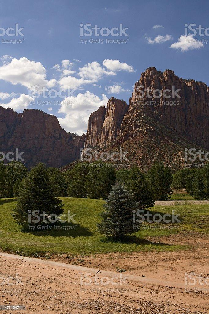 Utah Park stock photo