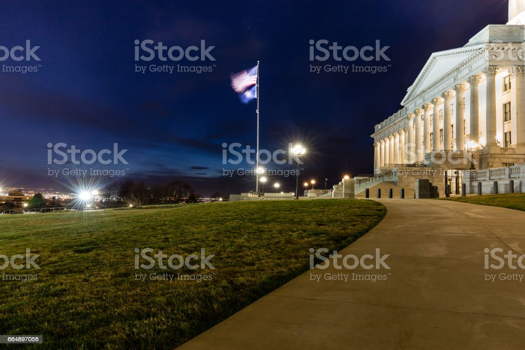 Utah State capital foto stock royalty-free