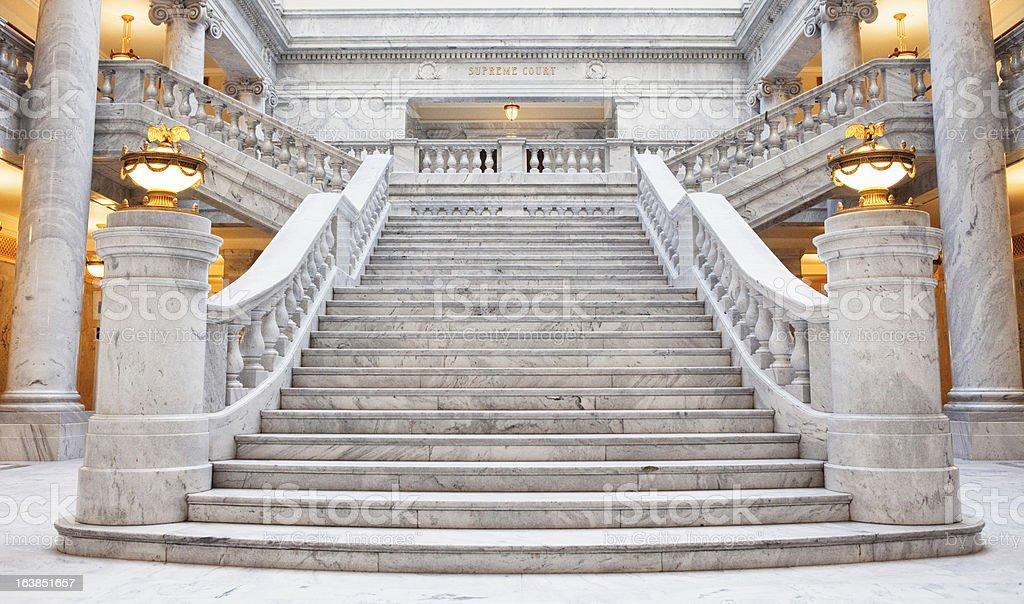 Utah State Capitol Building stock photo