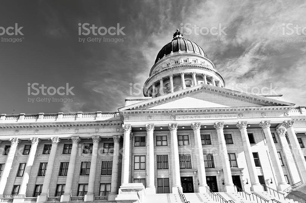 Utah State Capitol Building royalty-free stock photo