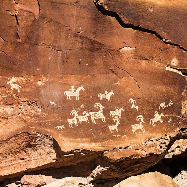 Ute Rock Art - Photo