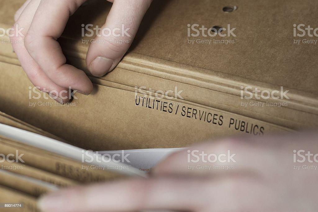 Utilities royalty-free stock photo