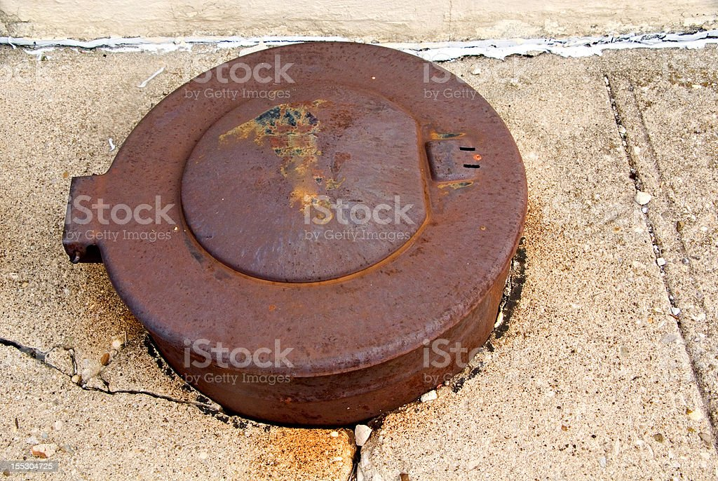 Utility Cover royalty-free stock photo