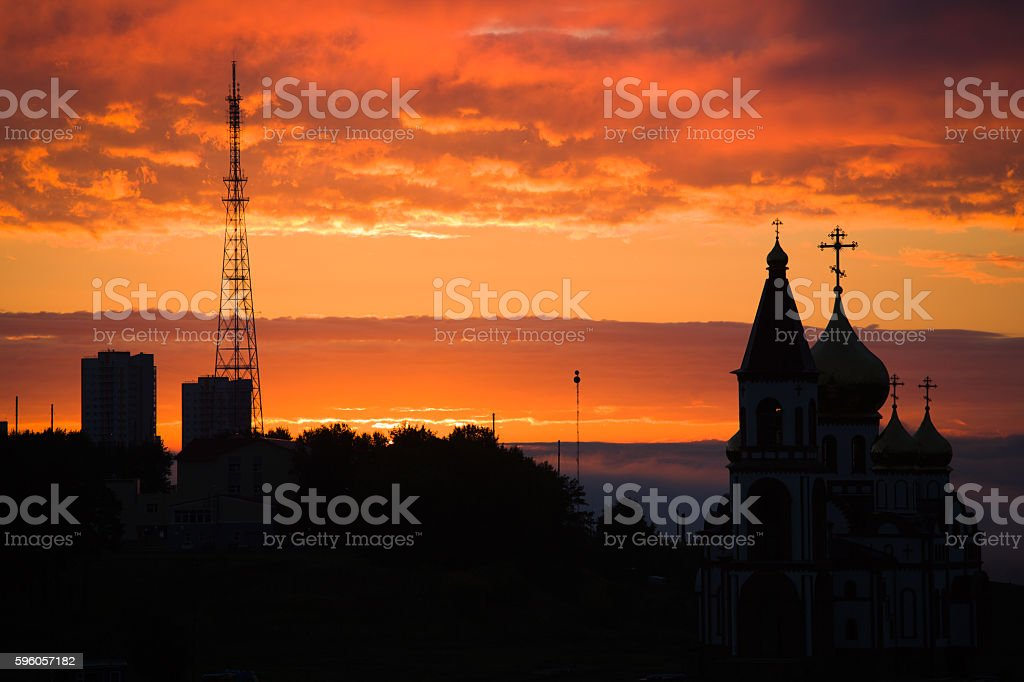 Utility lines royalty-free stock photo