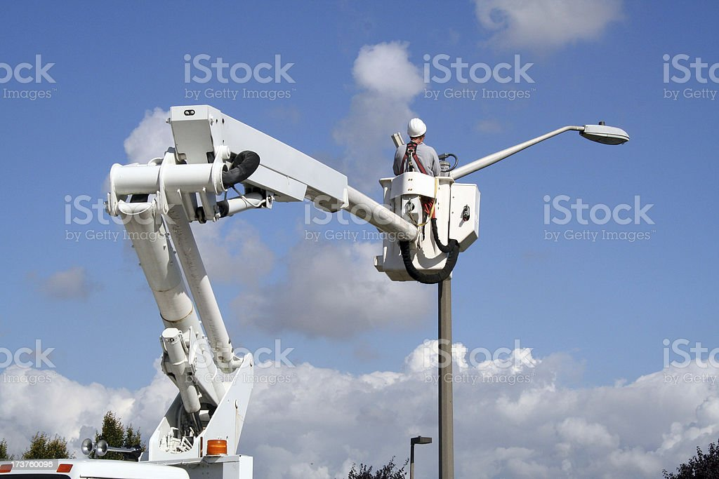 Utility Worker 5 royalty-free stock photo