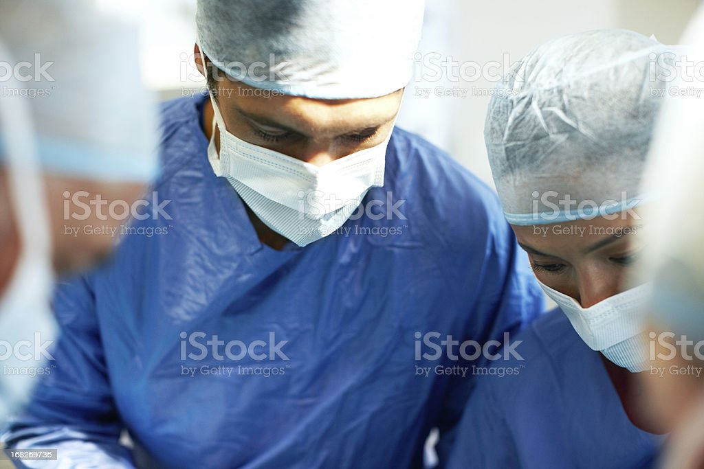 Utmost respect for the human body stock photo