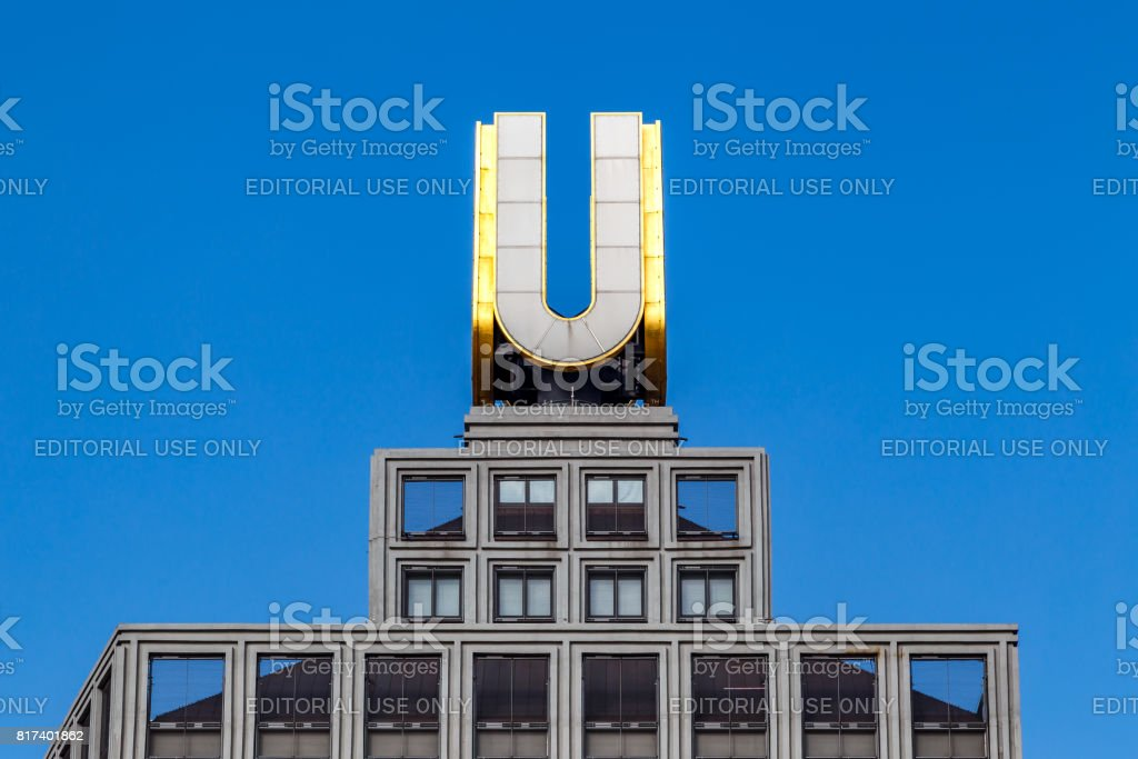 U-Tower, Dortmunder U in Dortmund, Germany stock photo