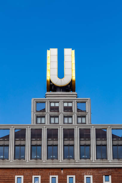 u-turm, dortmunder u in dortmund, deutschland - stadt dortmund ausbildung stock-fotos und bilder