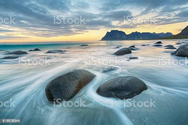 Photo of Uttakleiv Beach, Lofoten, Norway