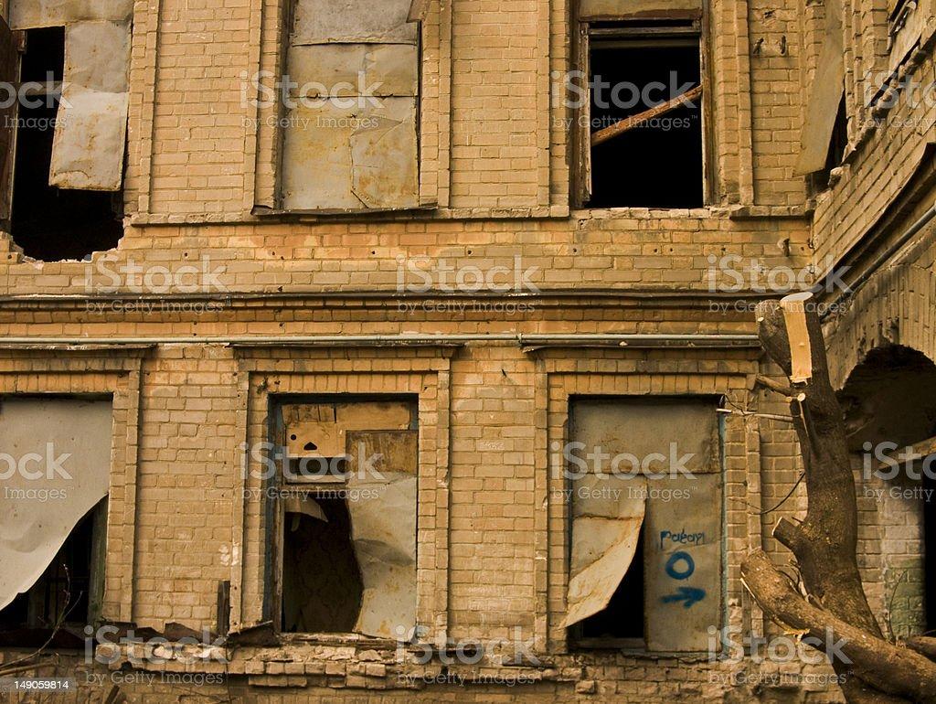 Utter desolation royalty-free stock photo