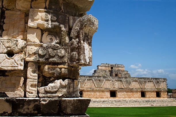 uxmal, méxico - uxmal stock photos and pictures