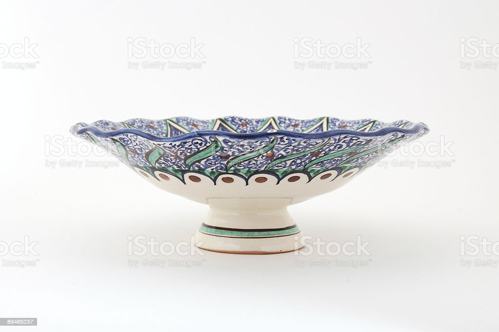 Uzbek Dessert Bowl royalty-free stock photo