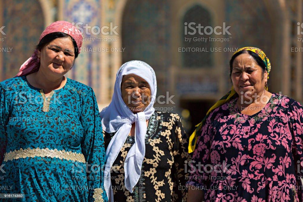Uzbek ladies