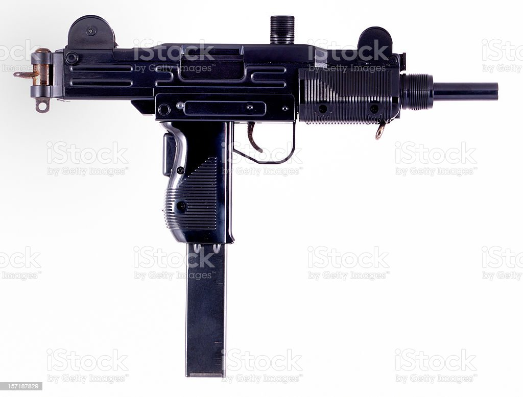 Uzi stock photo