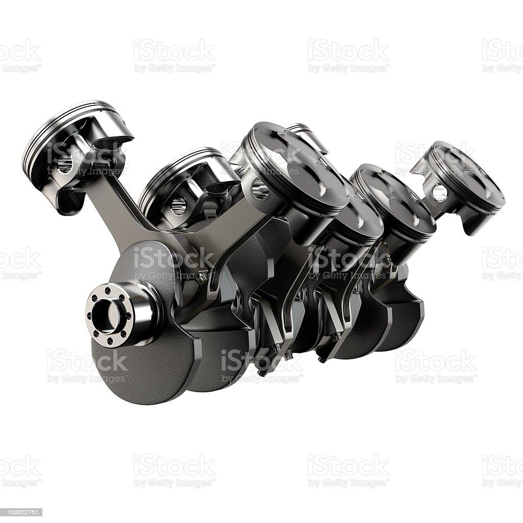 v8 engine royalty-free stock photo