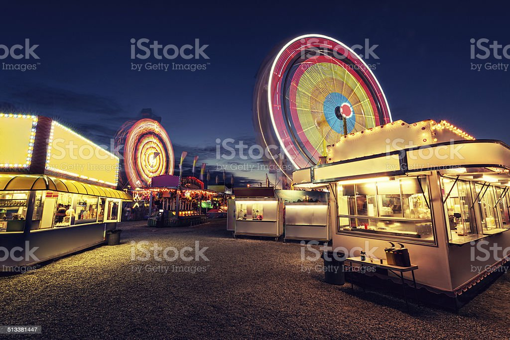 Vacant Carnival stock photo
