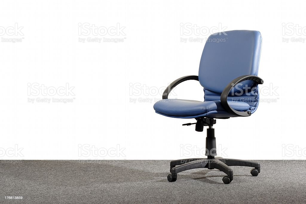 vacant office chair royalty-free stock photo