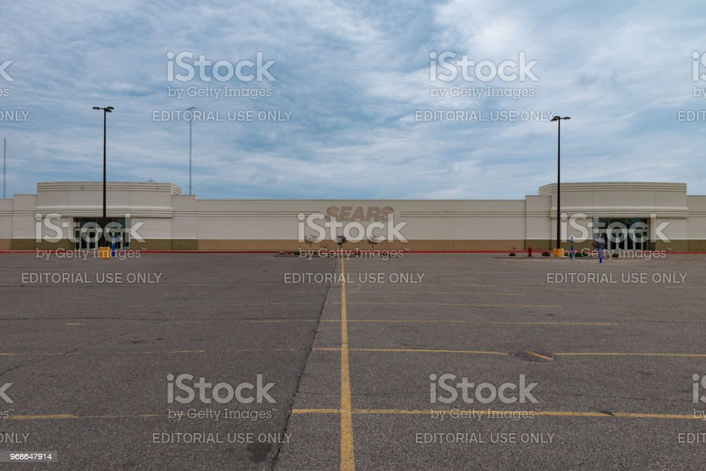 Vacant Sears Store stock photo