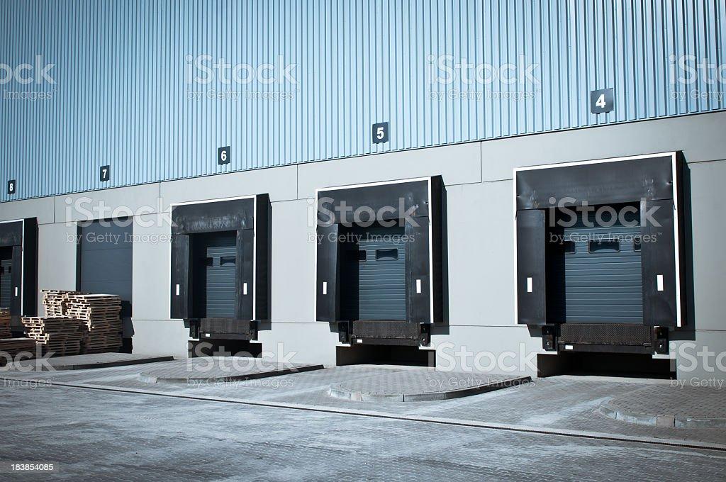 Warehouse cargo-Tür – Foto