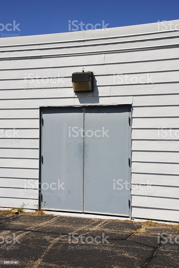 Vacant Warehouse royalty-free stock photo