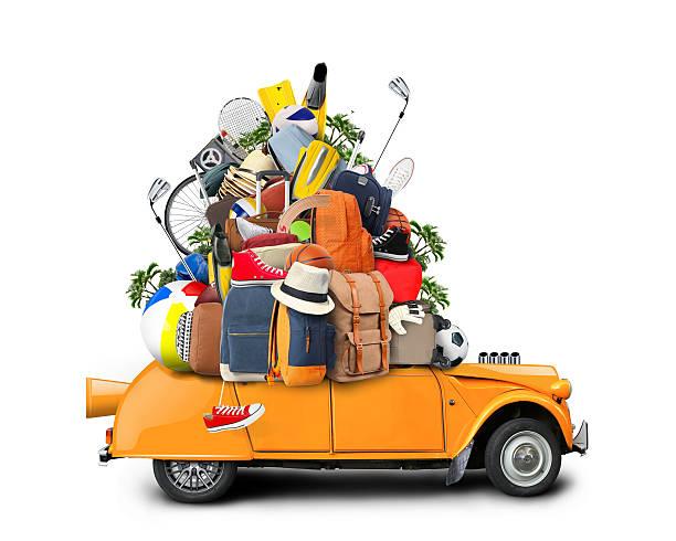 vacances et voyage - valise humour photos et images de collection