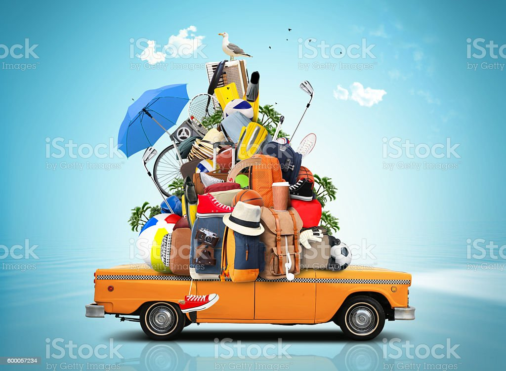 Vacation and travel stock photo