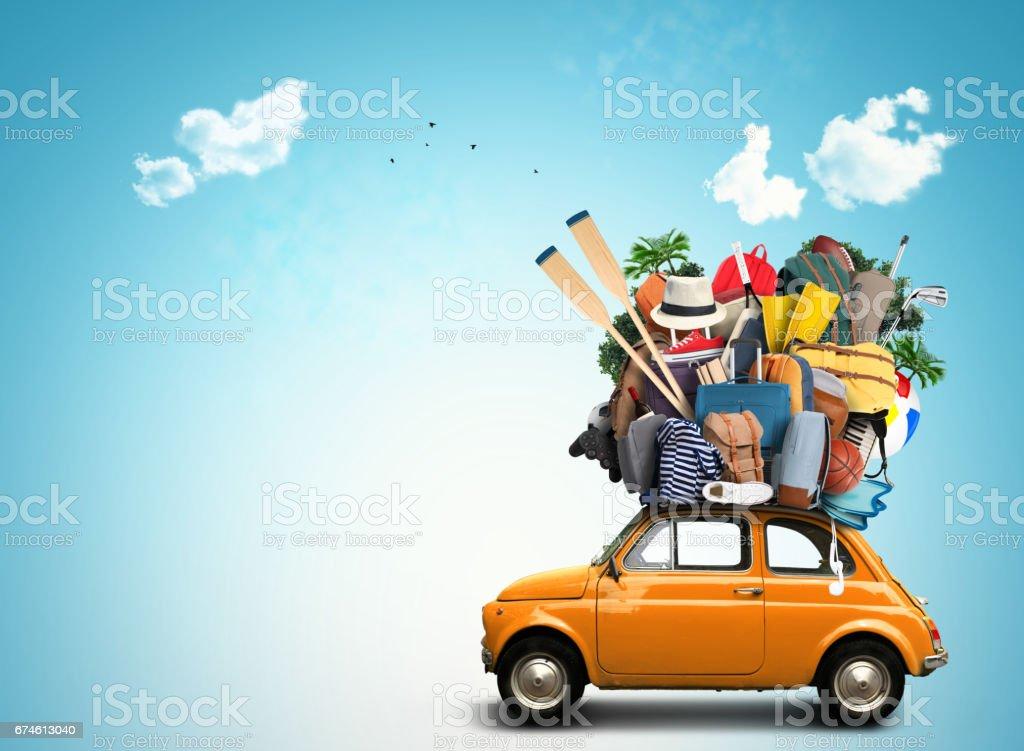 Urlaub und Reisen  Lizenzfreies stock-foto