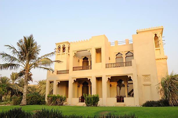 Urlaub im villa im luxuriösen hotel, Dubai, VAE – Foto