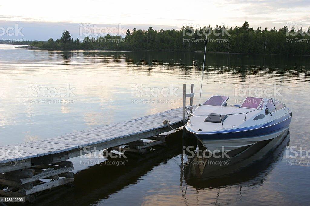 Vacation Boat royalty-free stock photo