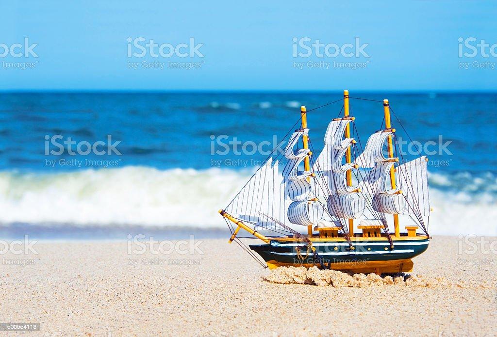 Vacation conceptual image. stock photo