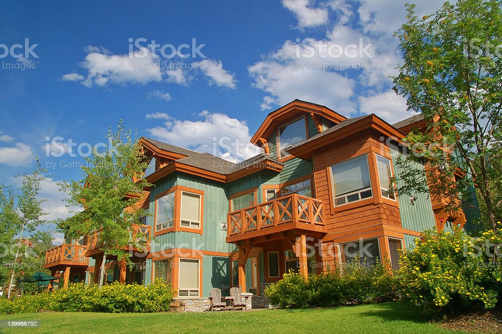 vacation condos stock photo
