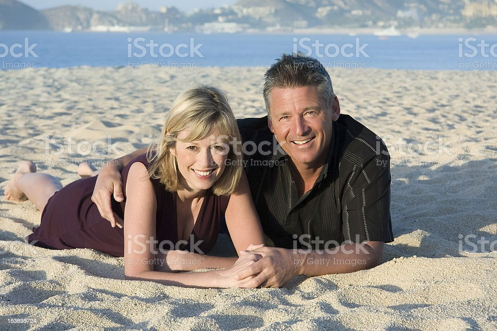 Vacation couple. royalty-free stock photo