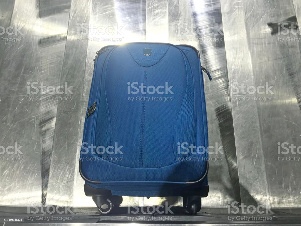 Vacation Destination Baggage Claim stock photo