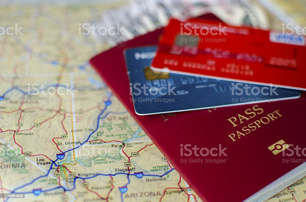 Vacation Essentials stock photo